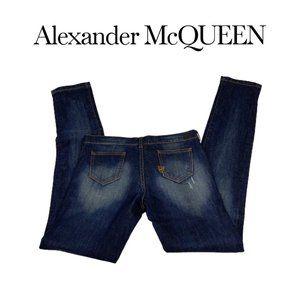 Alexander McQueen Straight Leg Jeans. Sz 27